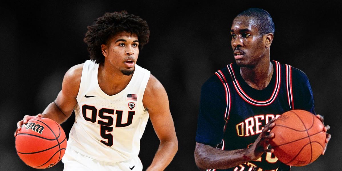 Ethan Thompson joins Gary Payton in Oregon State men's basketball history