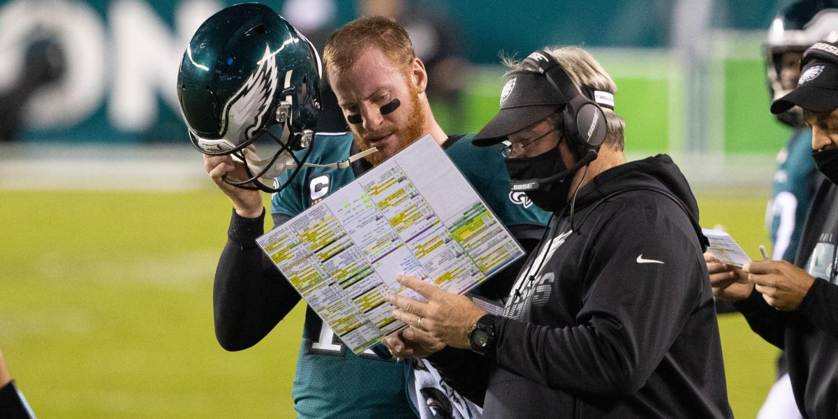 Pederson responds to report that Wentz wants out if he's backup in '21 - NBC Sports