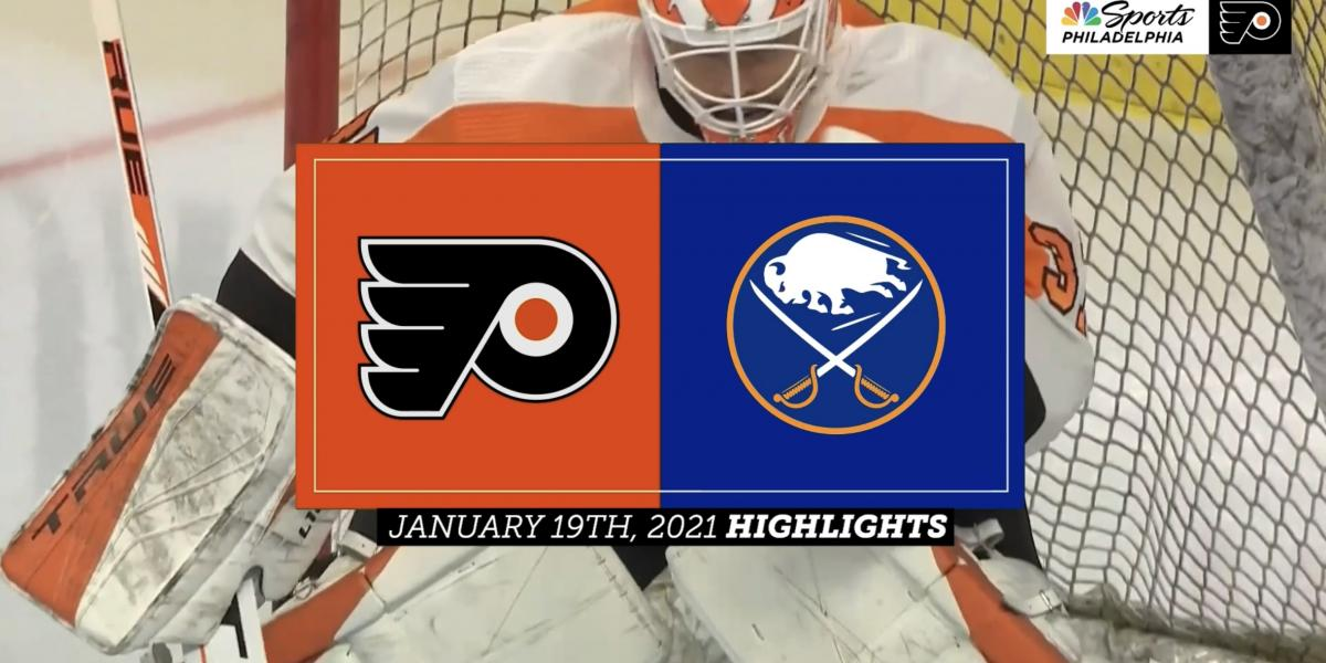 In a bounce back victory, Flyers shutout Sabres, 3-0