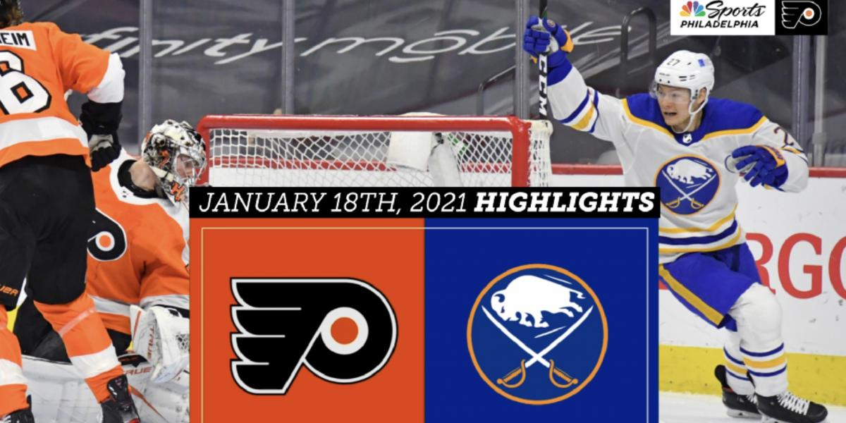 Flyers suffer embarrassing, 6-1 loss against the Sabres