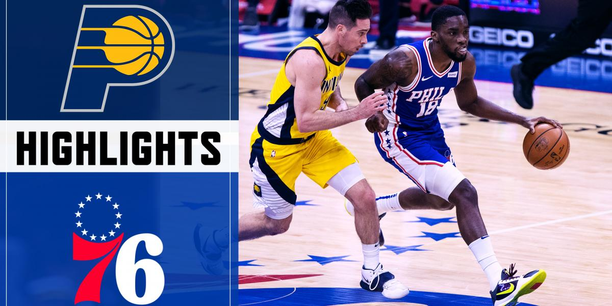 Highlights: Sixers' bench unit comes up big in blowout W over the Pacers