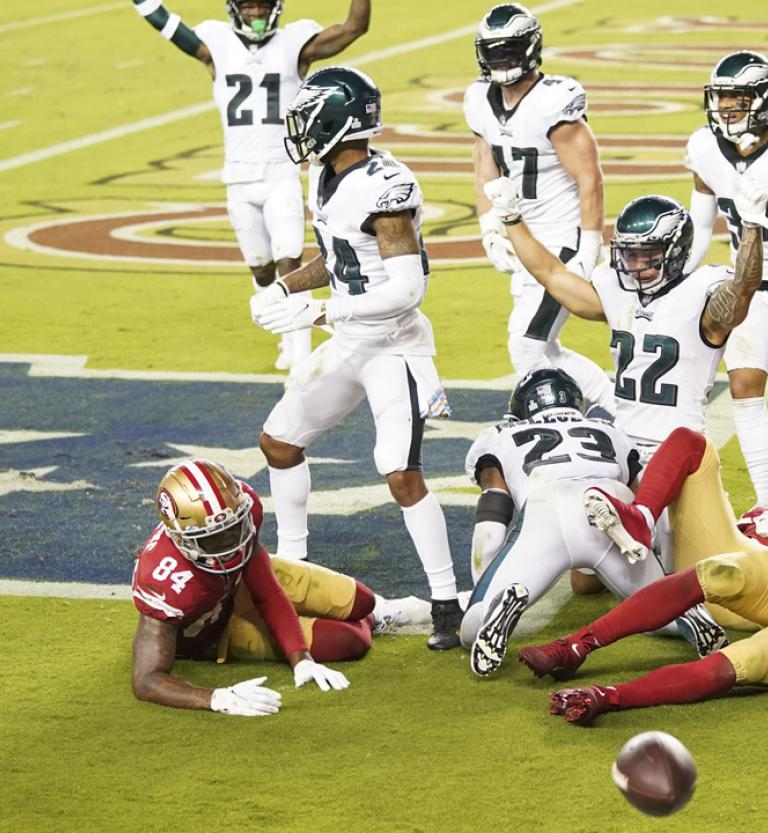 49ers Report Card Grades On Offense Defense In Week 4 Loss To Eagles Rsn