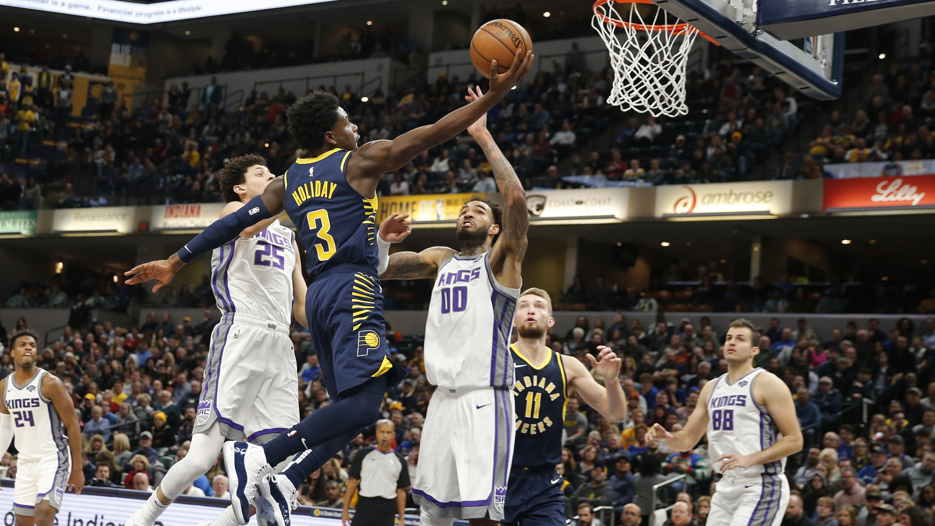Kings run out of steam, don't 'get any stops' in loss to Pacers