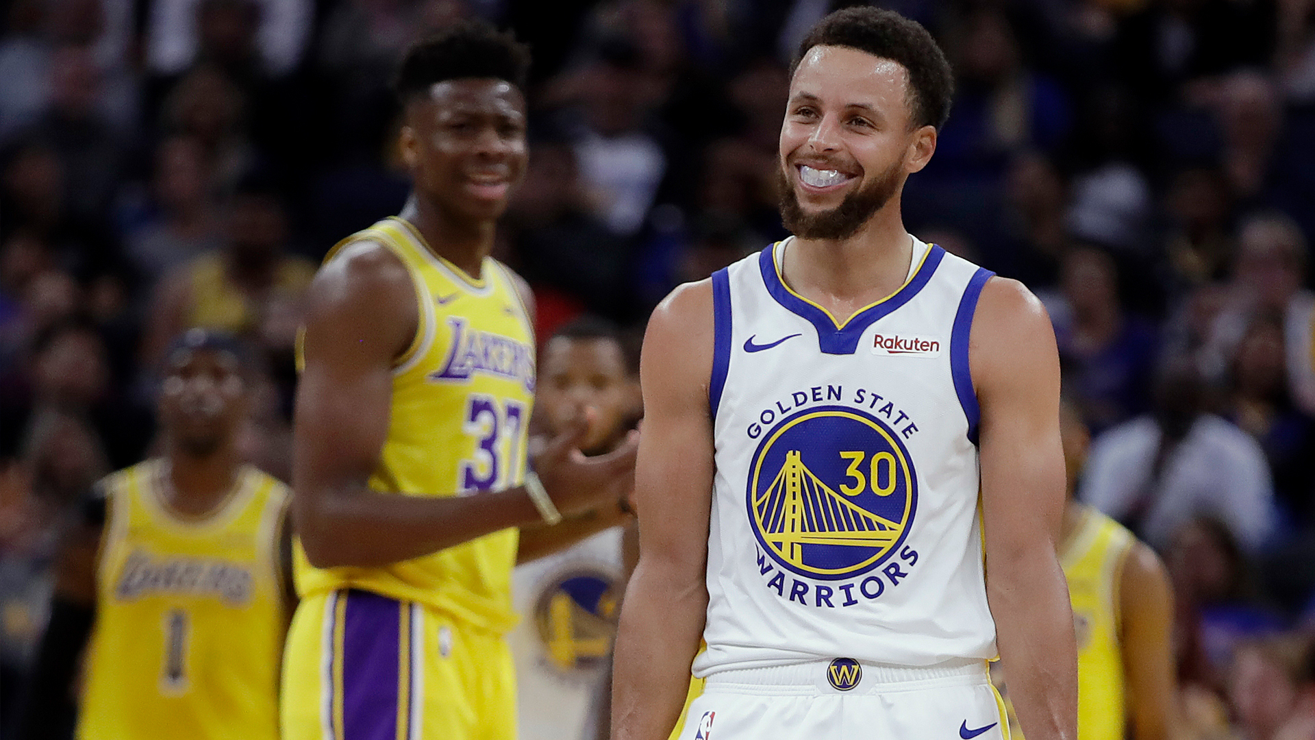 Warriors close out preseason with 124-103 win over Lakers