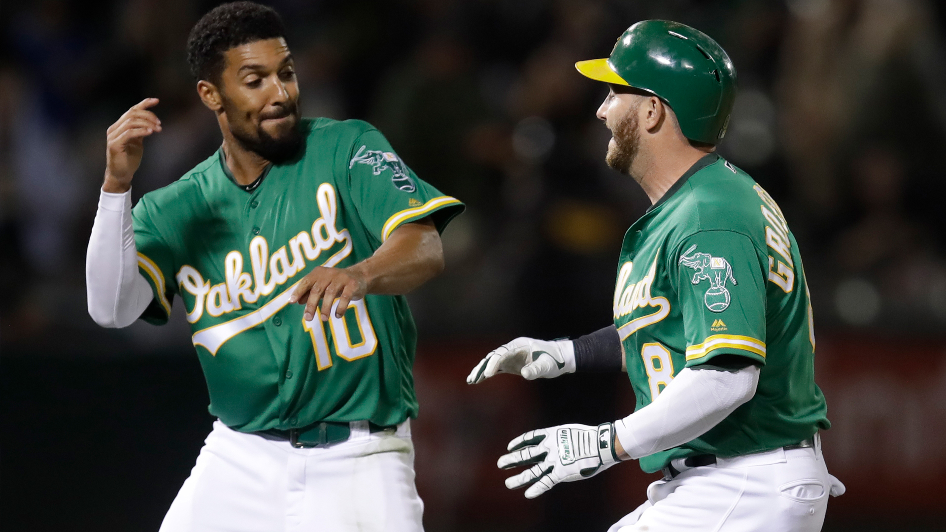 A's topple Astros again on Robbie Grossman's walk-off in 13th