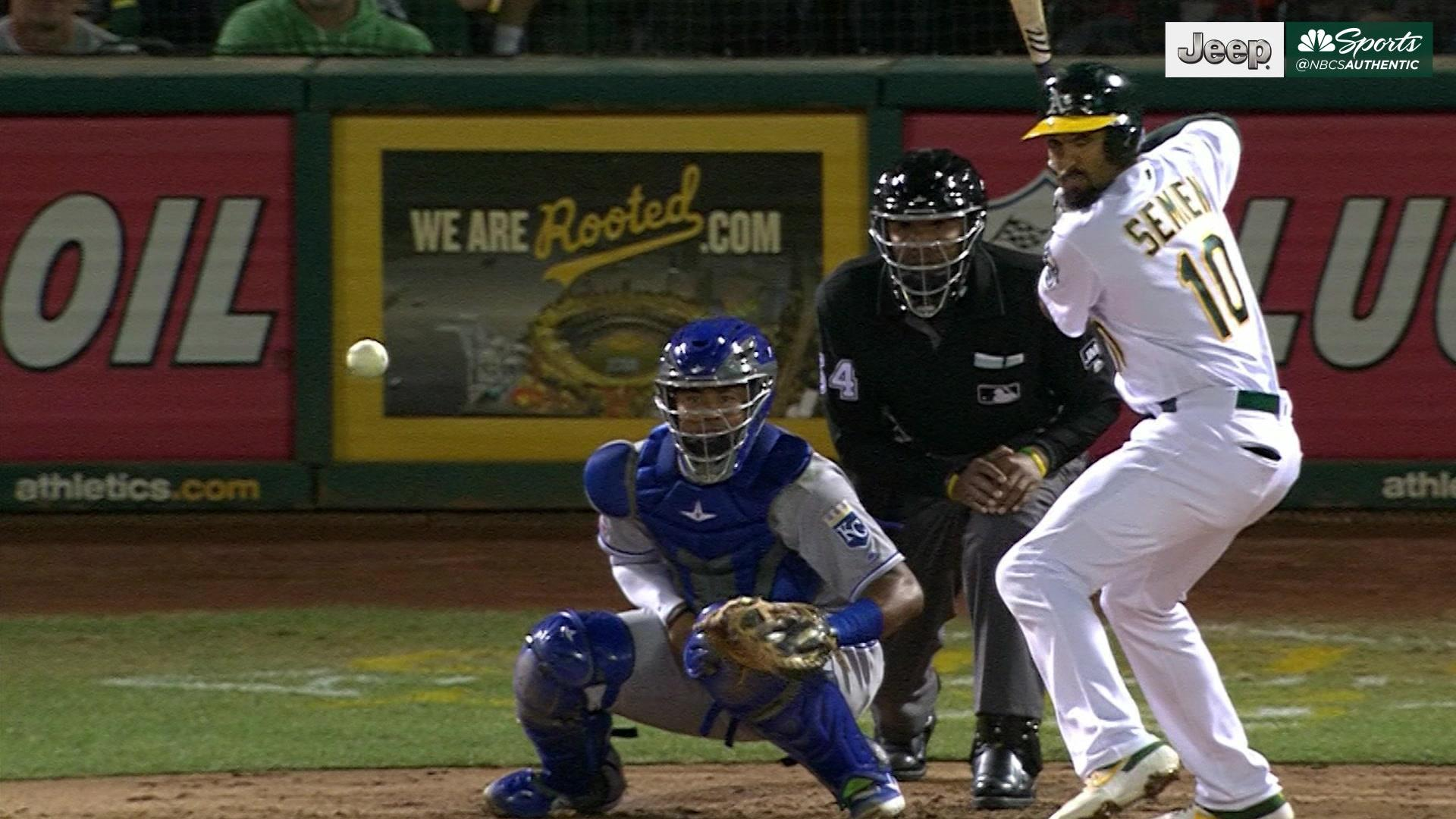 Drive of the Game: Marcus Semien blasts 31st homer of the season