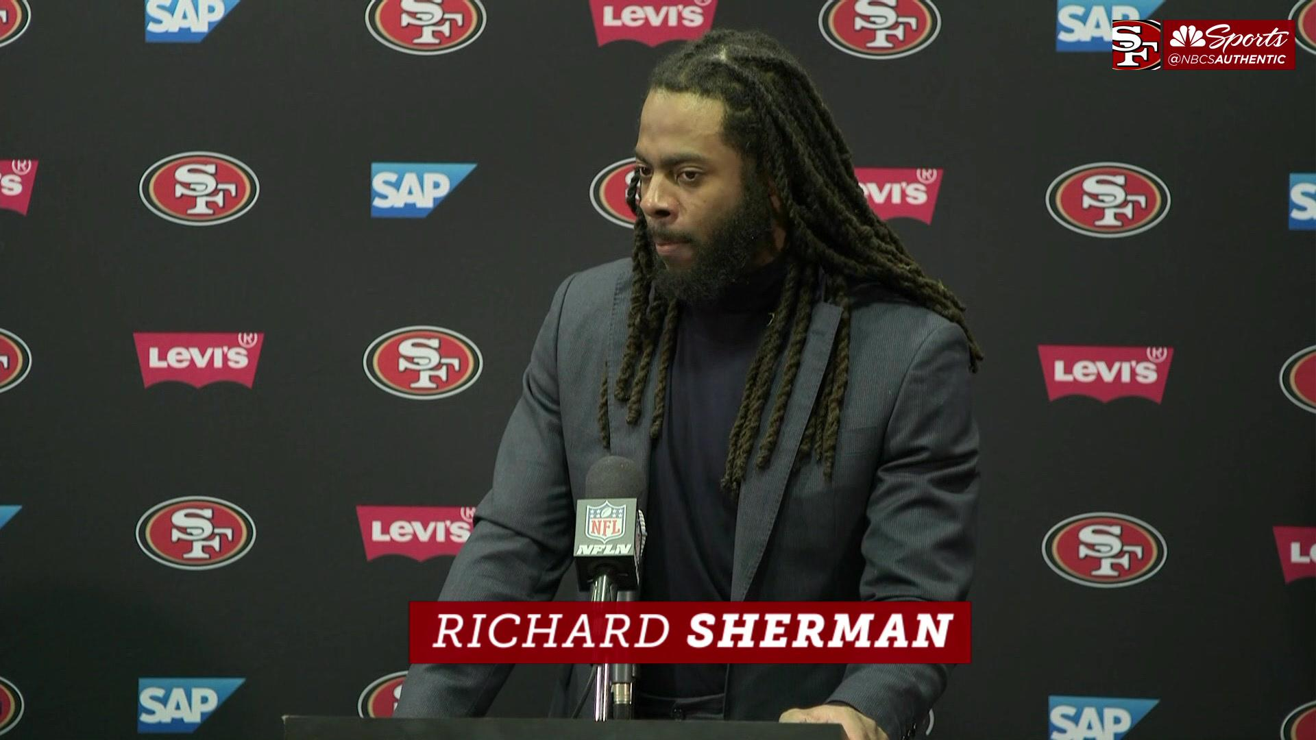 Joe Staley, Richard Sherman are 'super disappointed' for Reuben Foster