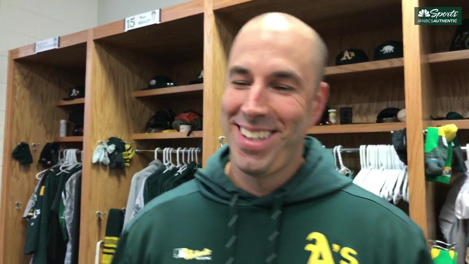 Mike Fiers explains rationale behind extremely weird facial hair
