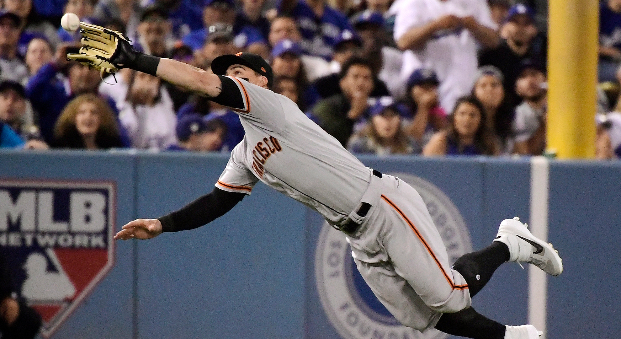 Giants dominated in all phases in shutout loss to Clayton Kershaw,