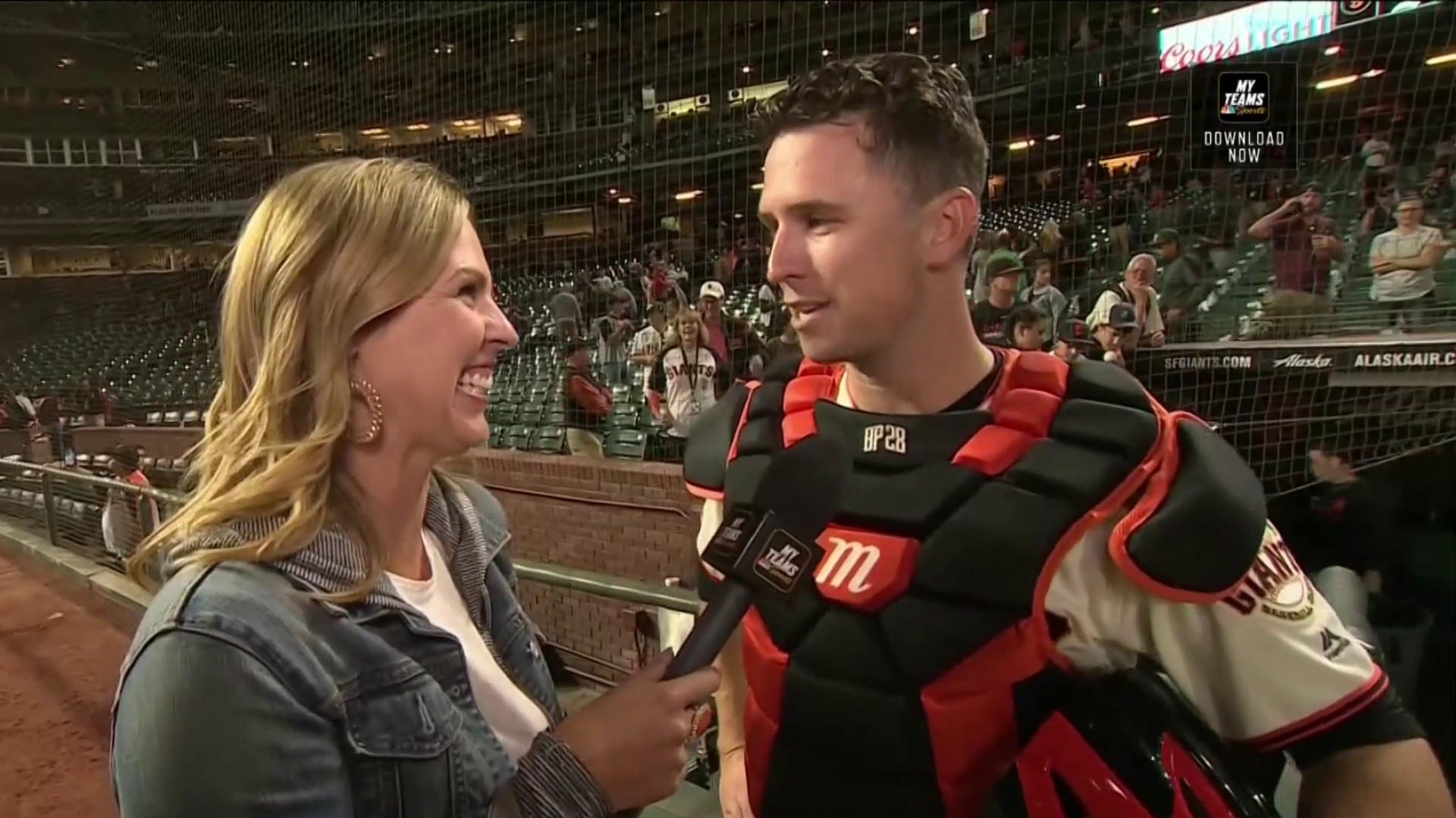 Buster Posey breaks down Madison Bugmarner's dominance in win vs. A's