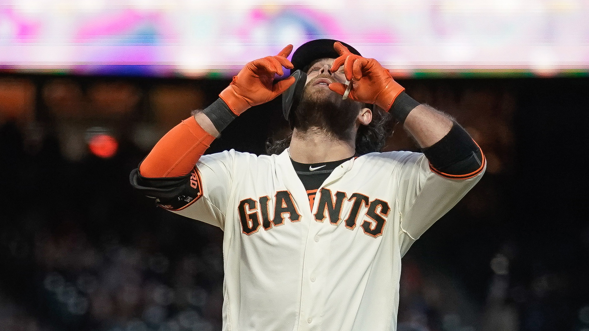 Drive of the Game: Brandon Crawford hits home run to center against Braves