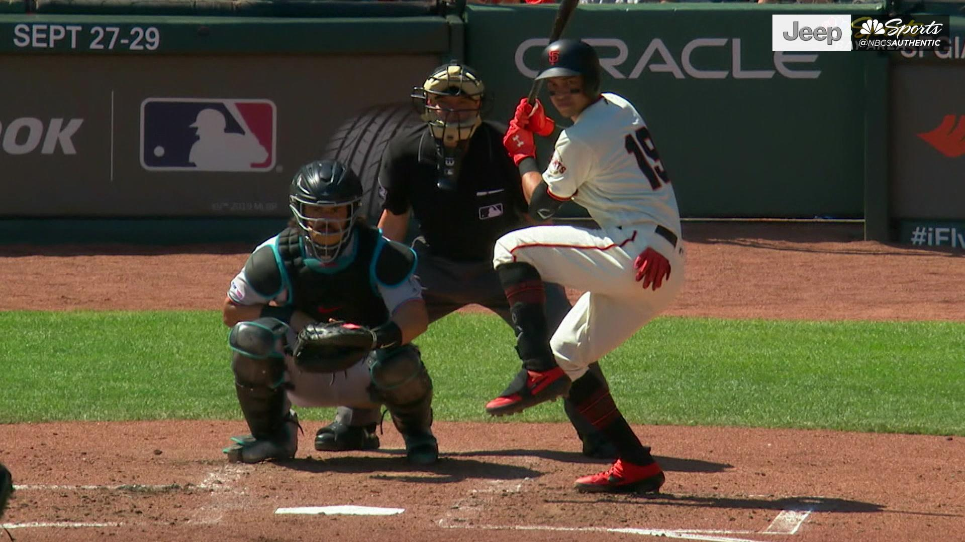 Drive of the Game: Mauricio Dubon's solo homer gives Giants 1-0