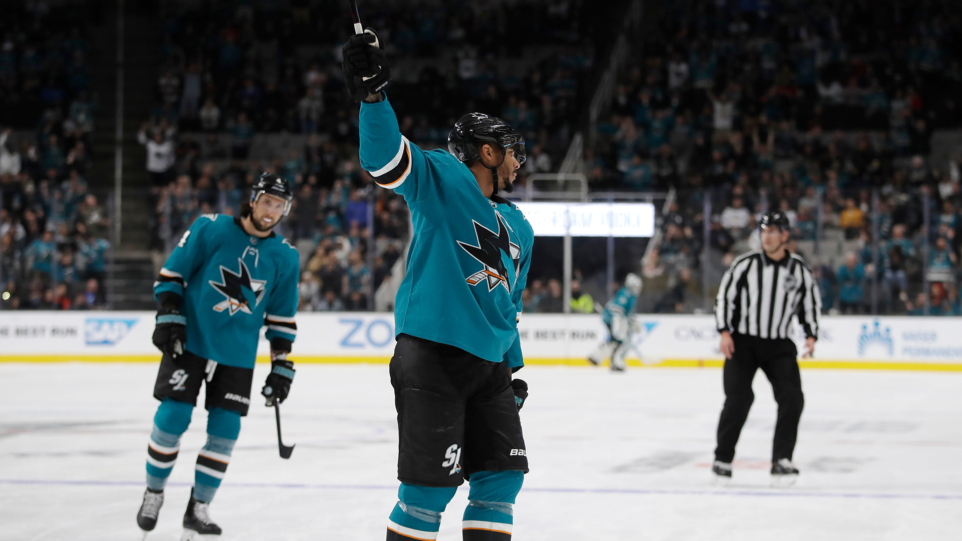 Shot of the Game: Sharks' Evander Kane records hat trick in first