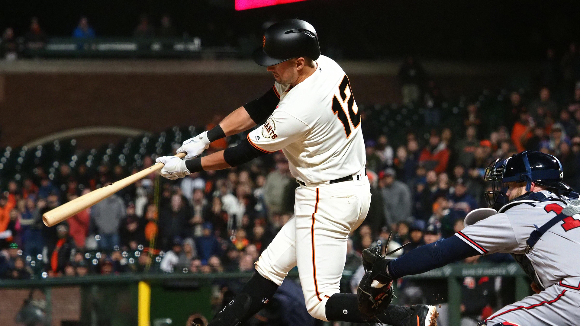 Joe Panik plays role of hero in Giants' 4-3 walk-off win against Braves