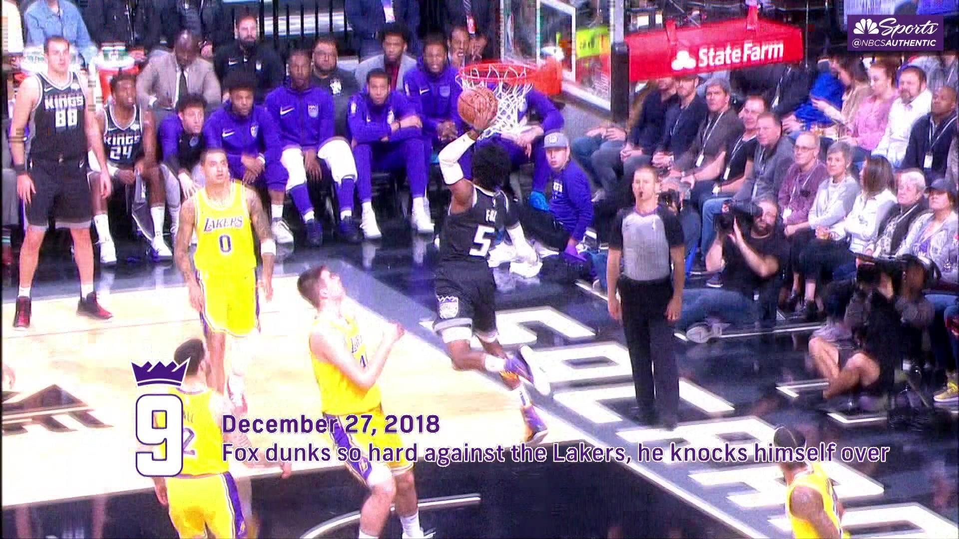 Ranking the Kings' Top 10 plays from the first half of 2018-19 NBA season