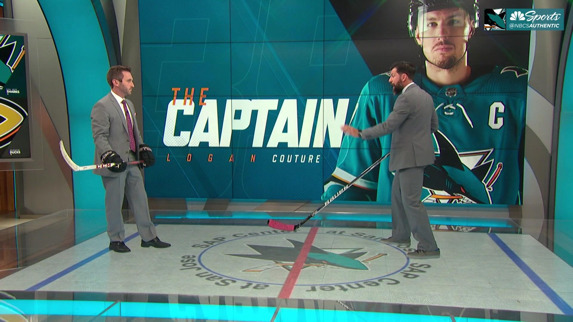 Curtis Brown breaks down how Sharks can follow Logan Couture's lead