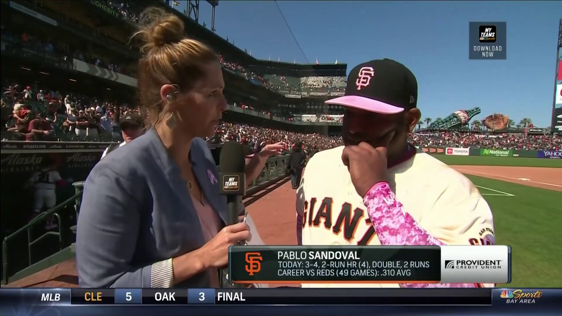Pablo Sandoval admits he was going to run through Ron Wotus' 'Stop' sign