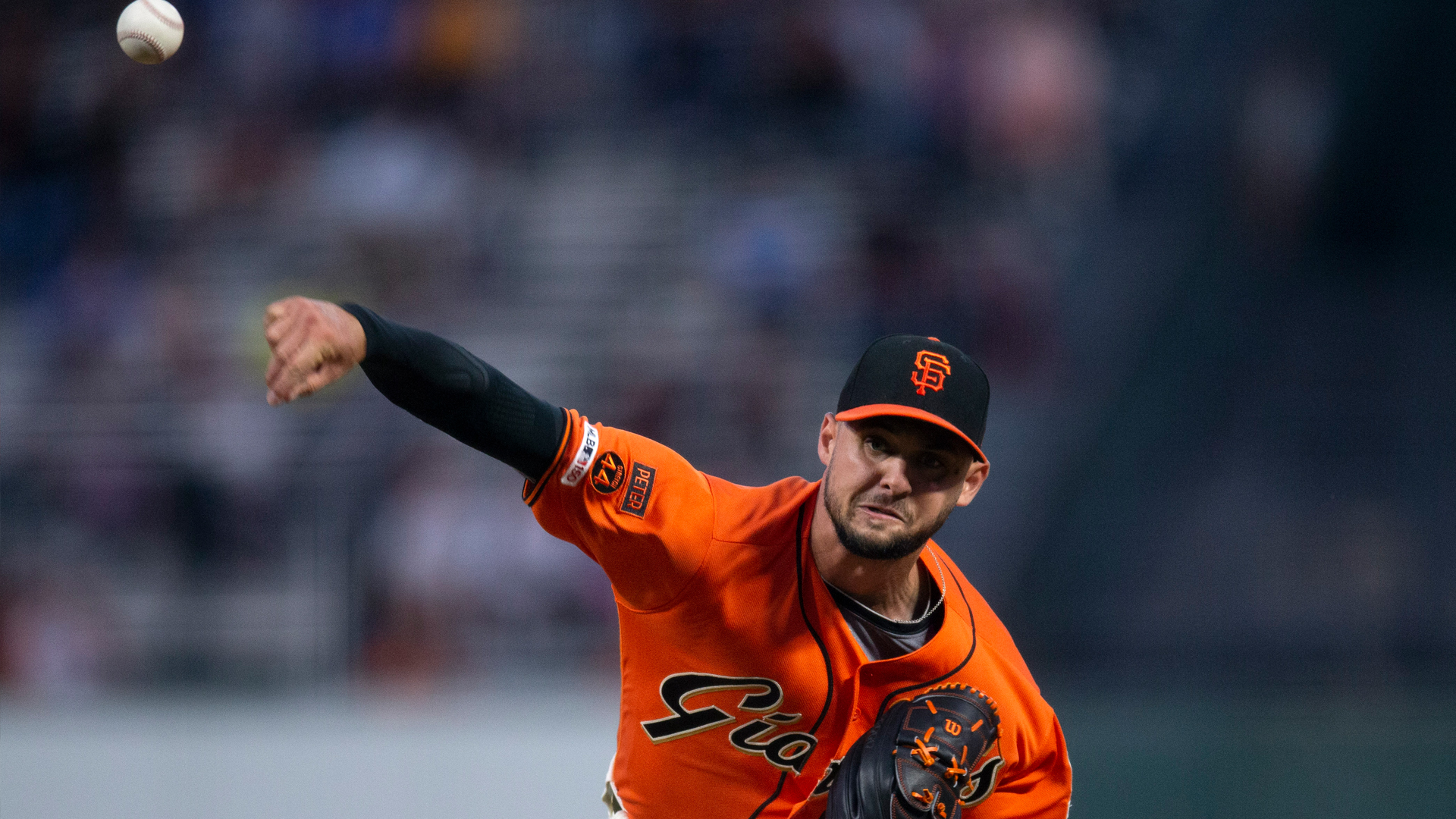 Tyler Beede shines on mound, Buster Posey drives in run in Giants'