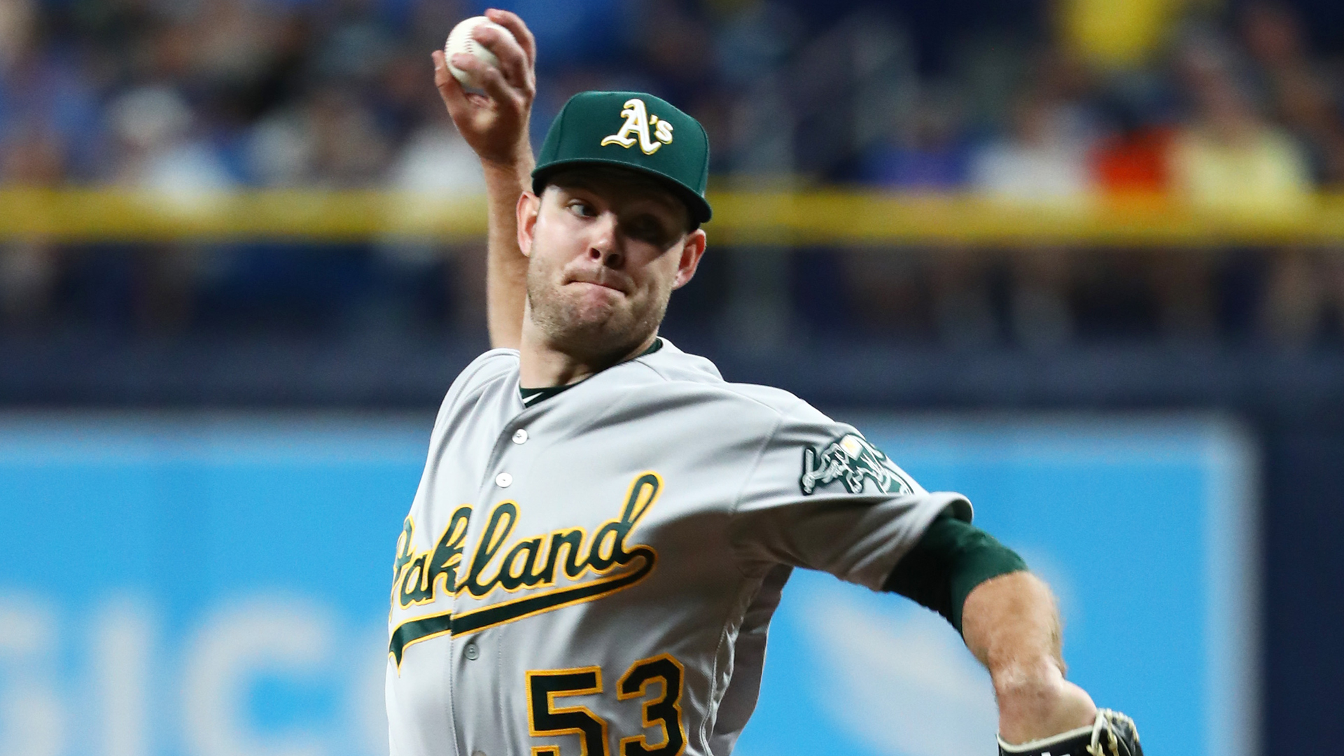 Tanner Anderson makes one mistake as he loses A's debut to Rays