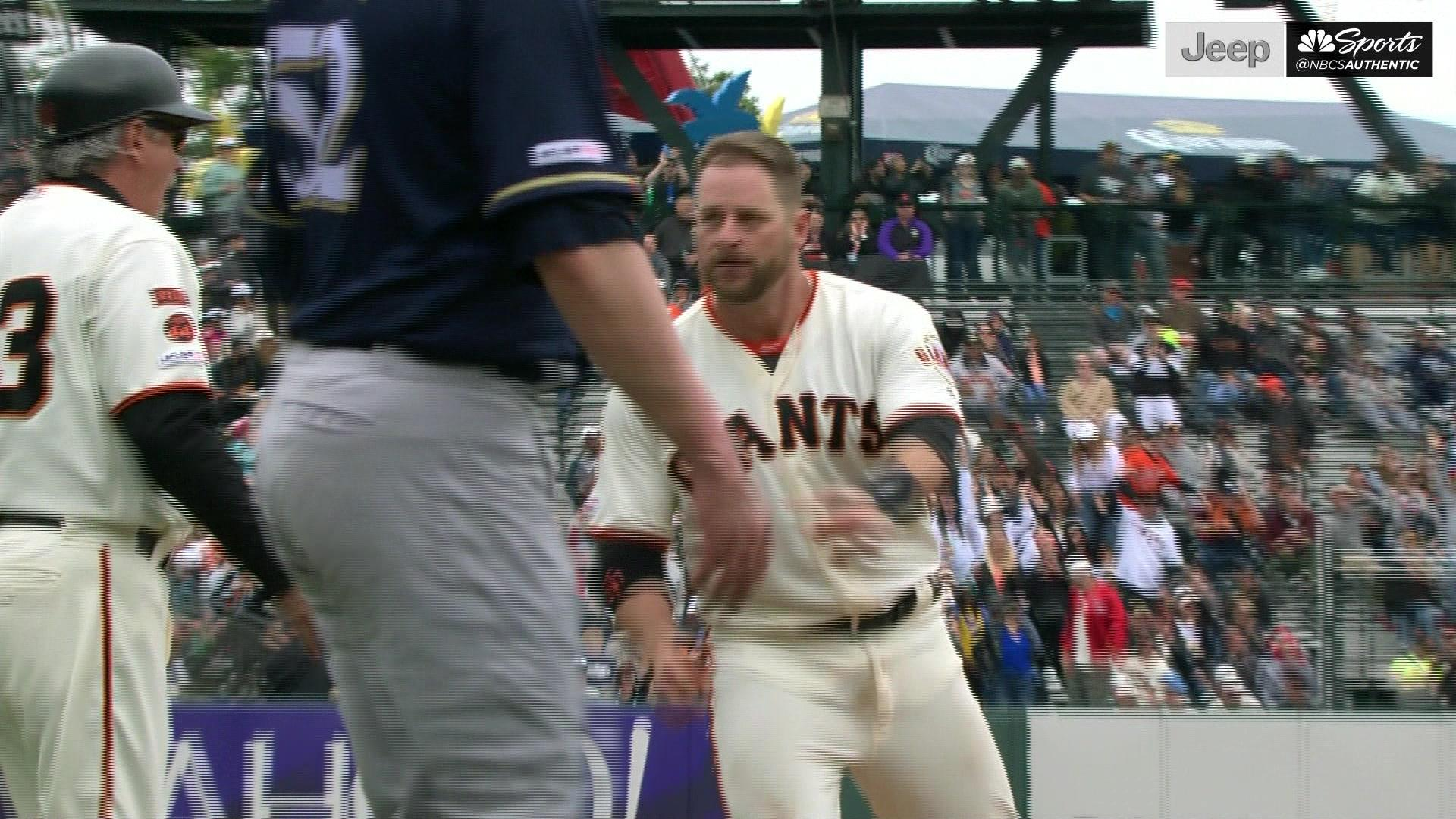 Drive of the Game: Stephen Vogt takes advantage of Triple's Alley -- twice
