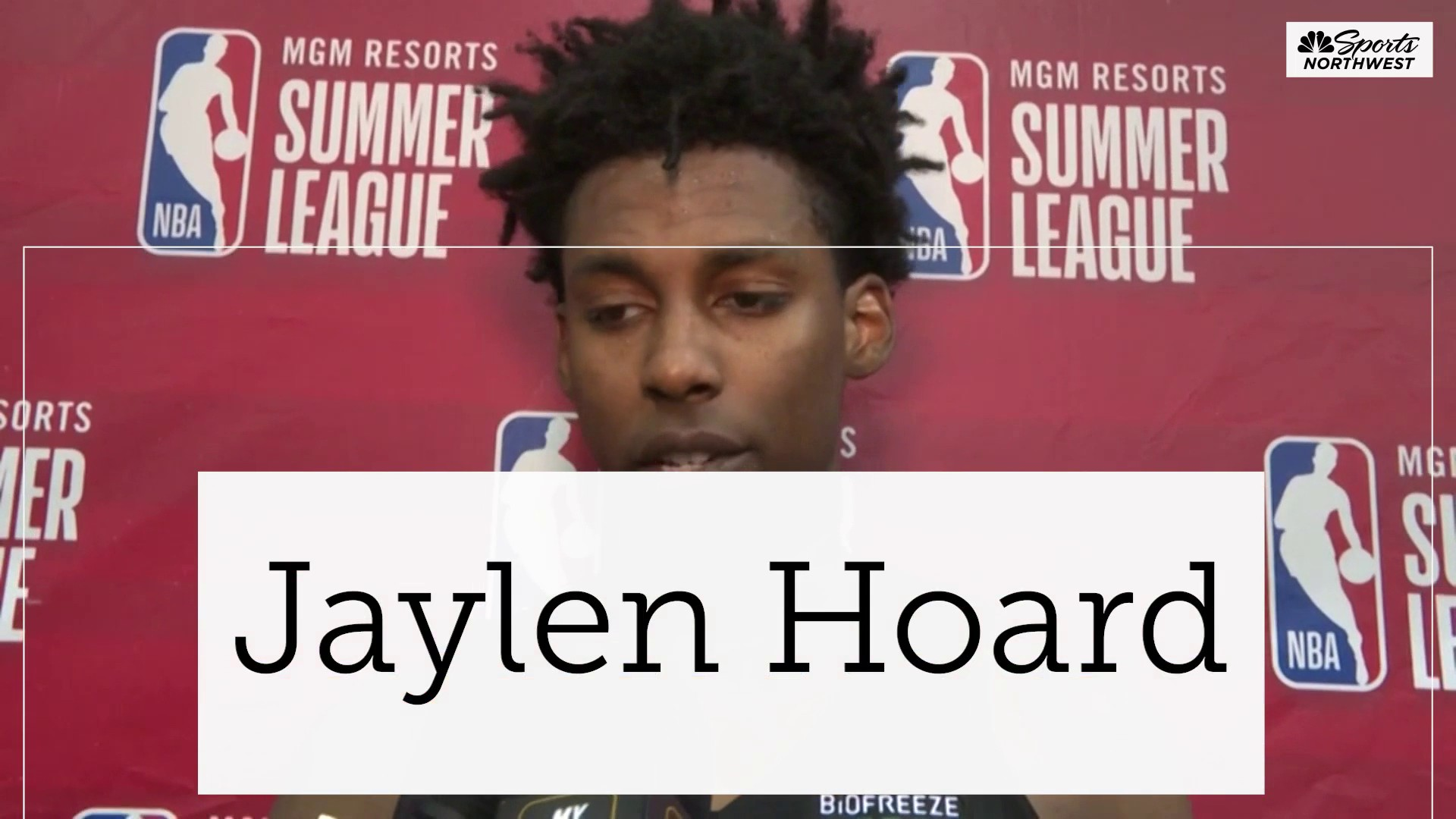 Jaylen Hoard: The Energy Man