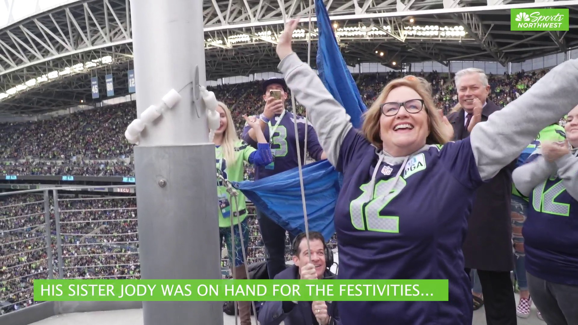 Paul Allen Ring of Honor induction special moment for Seahawks