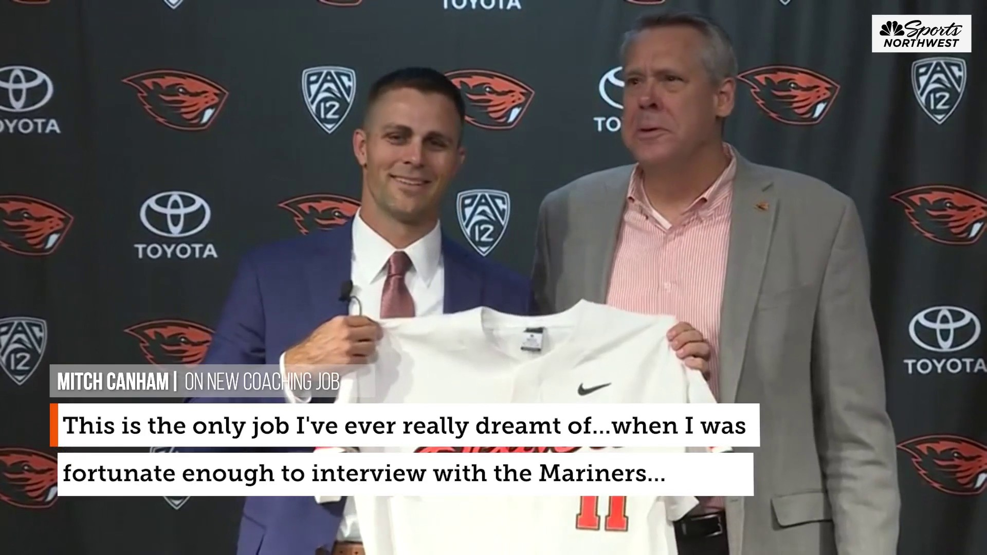 """Mitch Canham ready to """"embrace the grass"""" as Beavs baseball coach"""