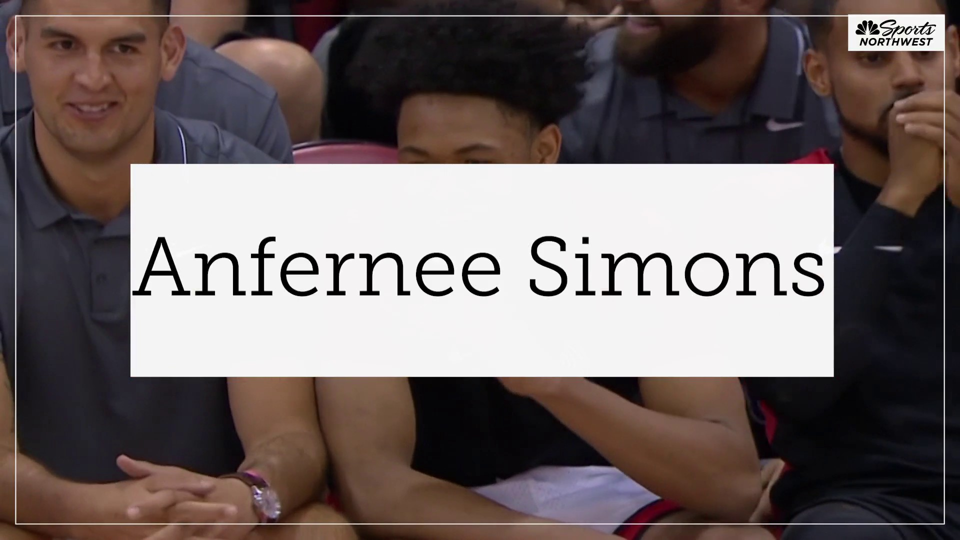 Moran on Anfernee Simons: We're letting him figure it out