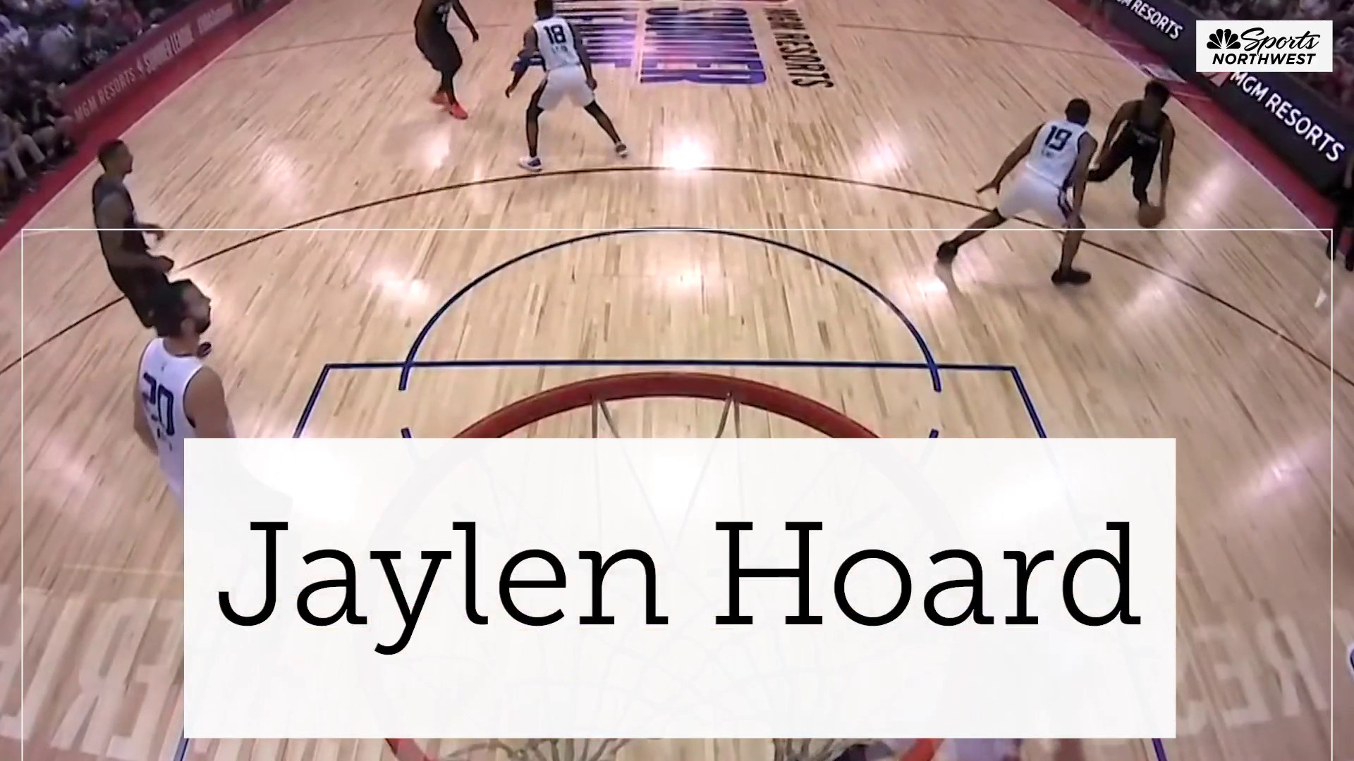 Coach Moran: Jaylen Hoard has proved he can play at this level