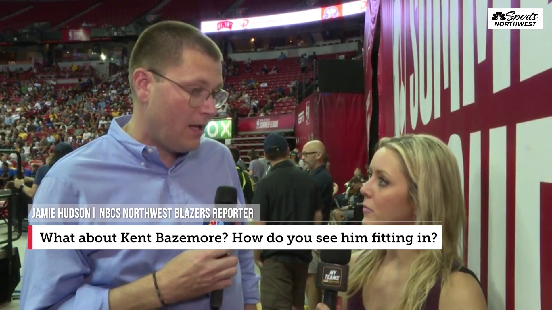 Kent Bazemore a 'nice regular season fit' for Trail Blazers
