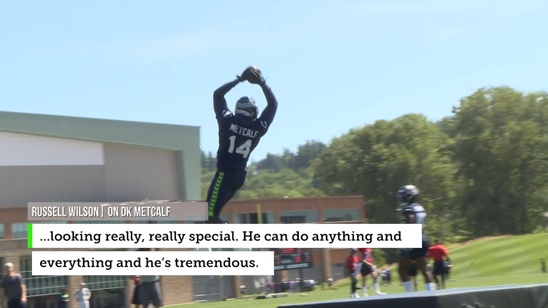 Rookie receiver DK Metcalf making a strong impression on Seahawks