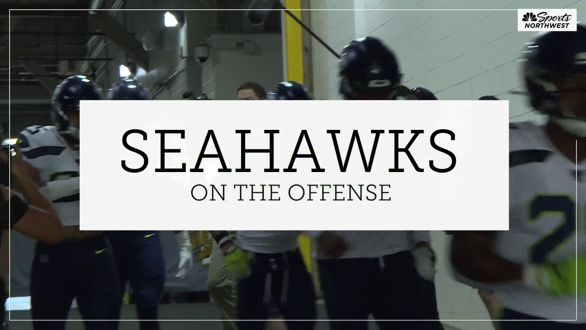 Seahawks offense starting to find its groove