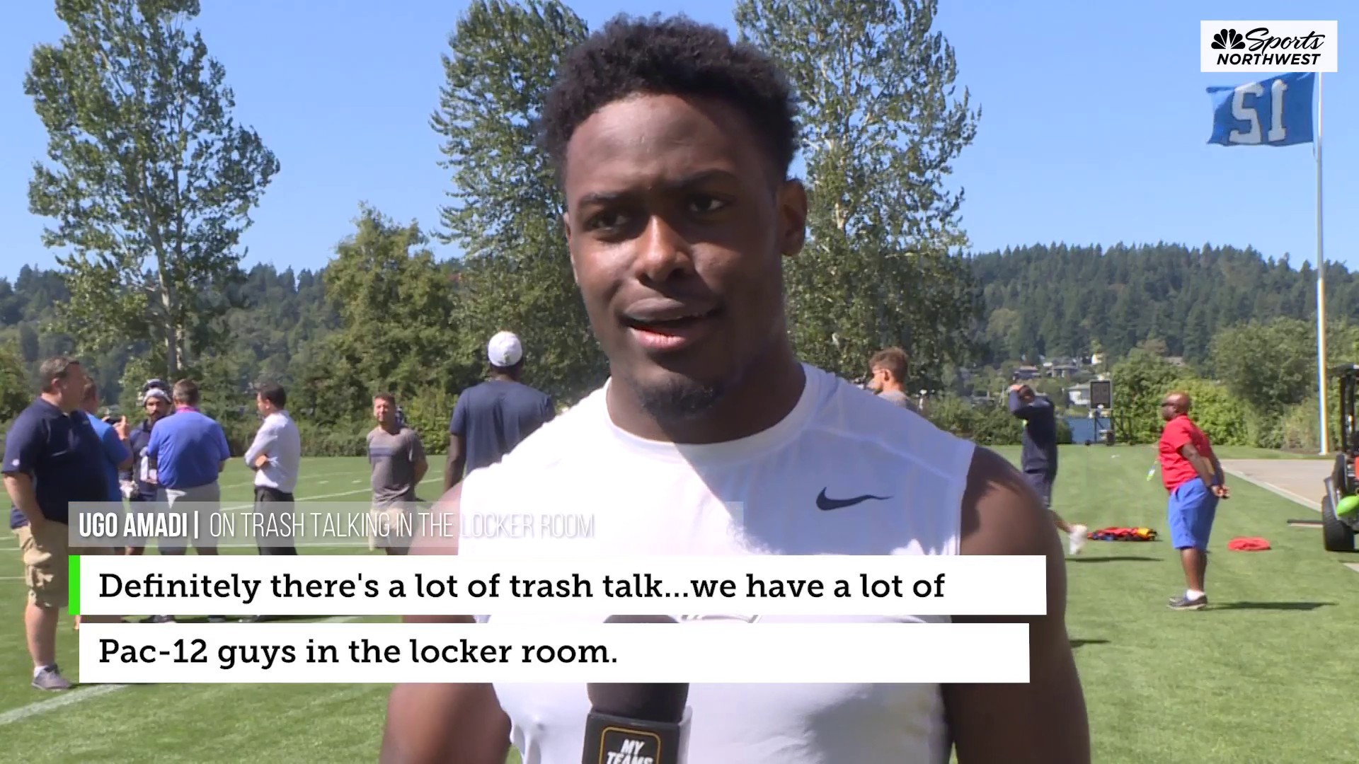 Seahawks Will Dissly, Ugo Amadi predict who will win the Pac-12 North