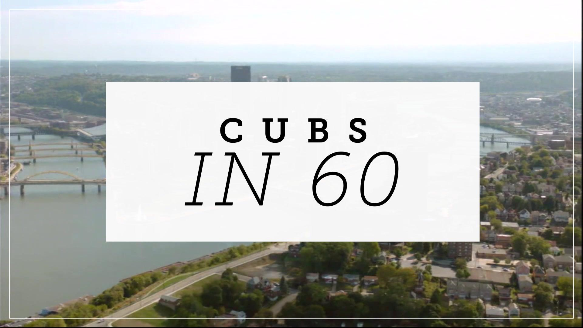 Cubs in 60: Cubs road struggles strike again