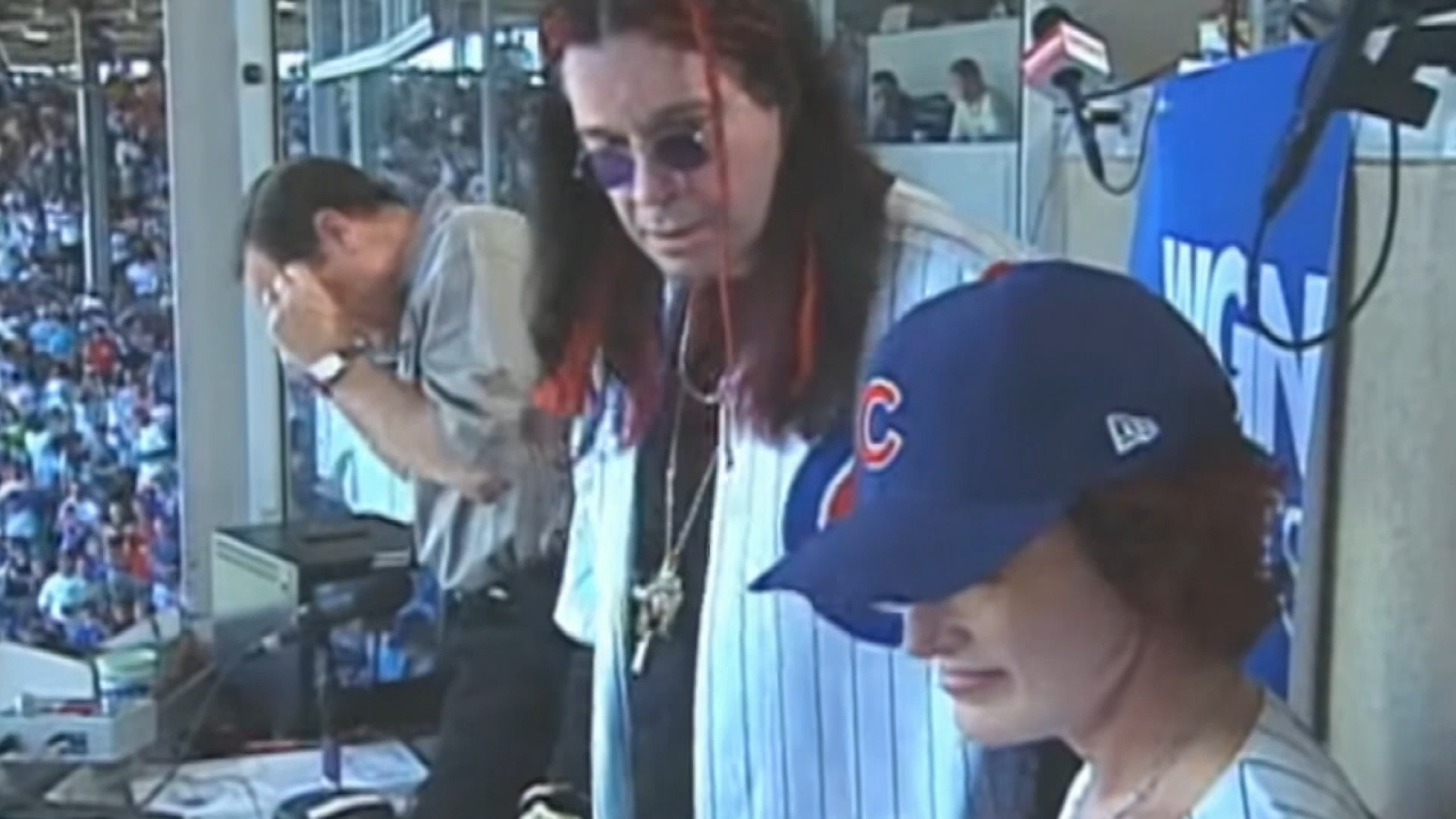 "OTD: Ozzy Osbourne ""sings"" the 7th inning stretch"