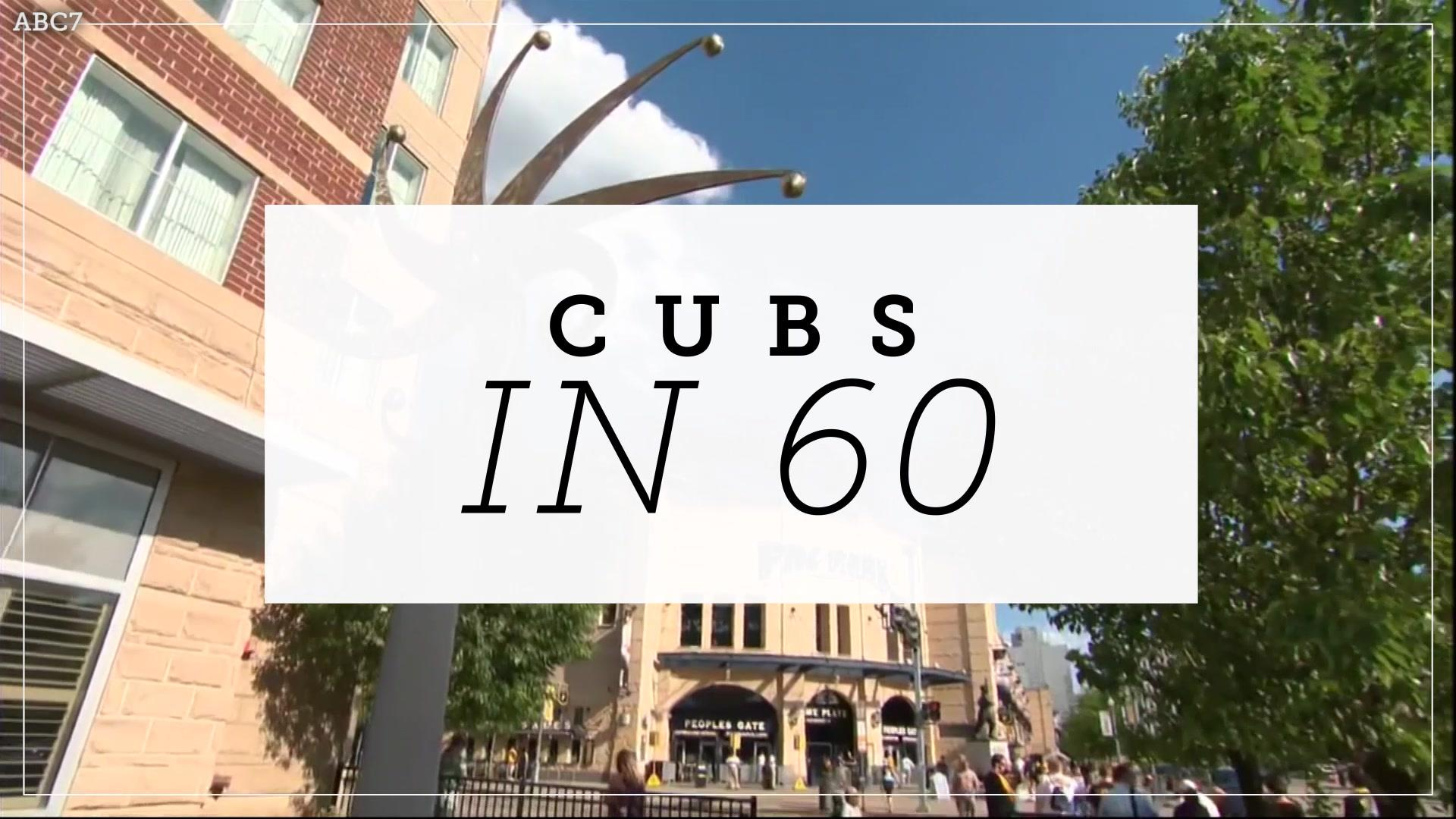 Cubs in 60 : Cubs snap 4-game losing streak behind Lester
