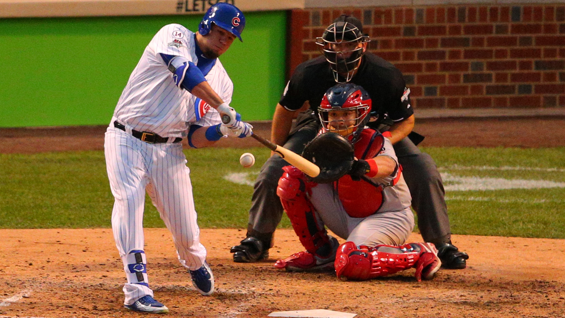 OTD: Schwarber lands one on the scoreboard and Cubs advance to NLCS