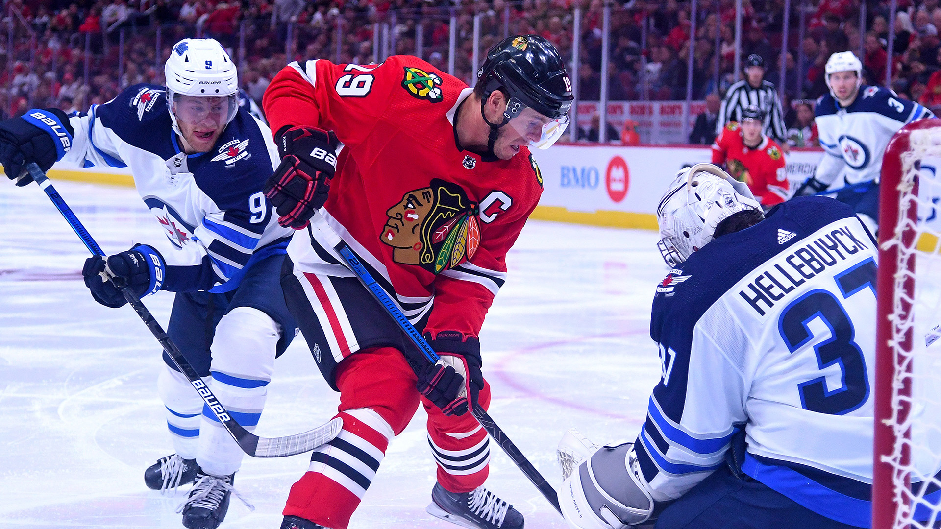 Jonathan Toews on early struggles: 'We're not going to freak out'