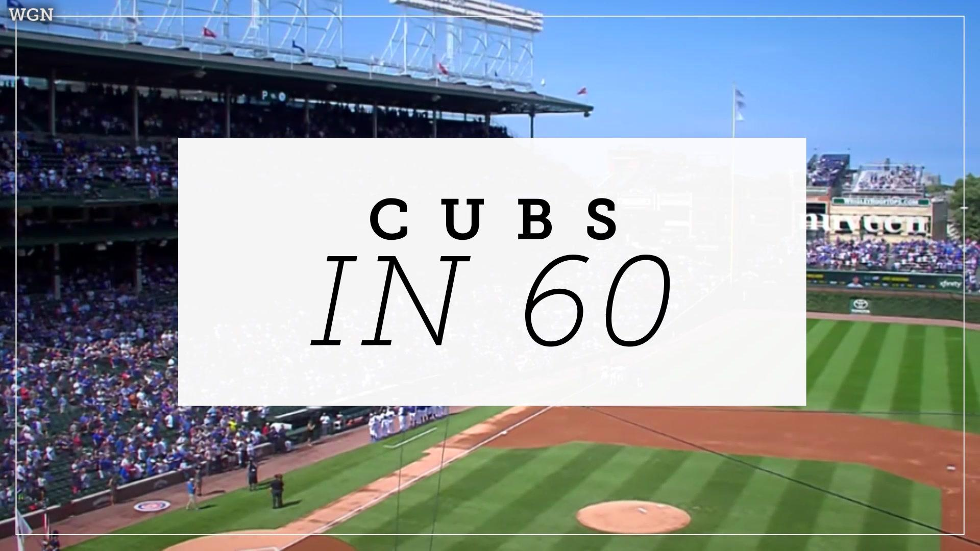 Cubs in 60: Cubs Bats Stay Hot in Game 3 vs Pirates