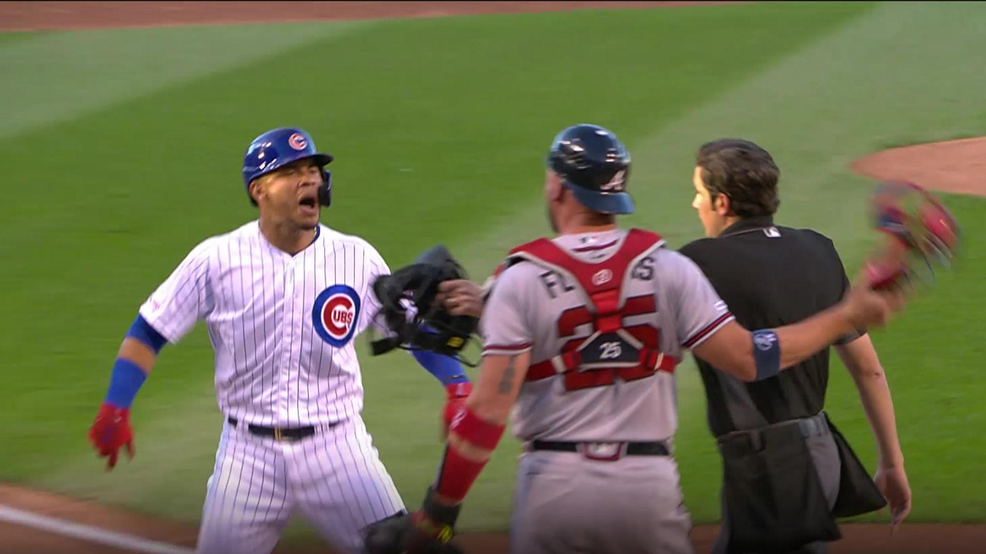 Anthony Rizzo on Willson Contreras, Tyler Flowers commotion