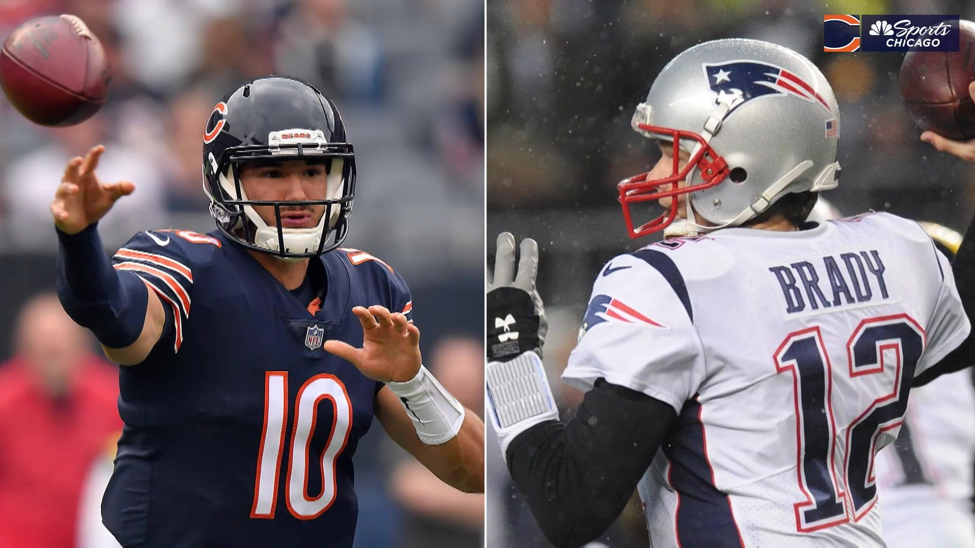 Comparing Tom Brady and Mitchell Trubisky in their first 17 NFL games