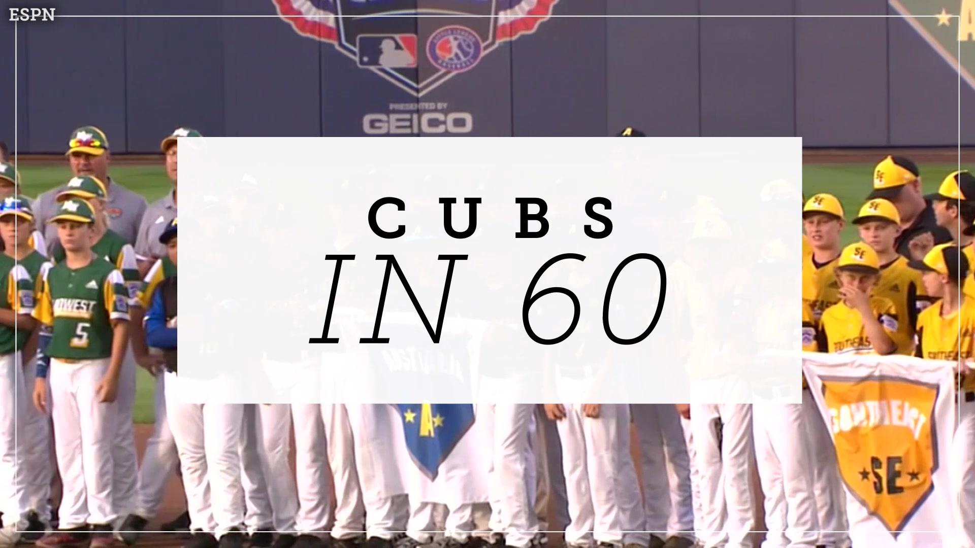Cubs in 60: Cubs take Little League Classic