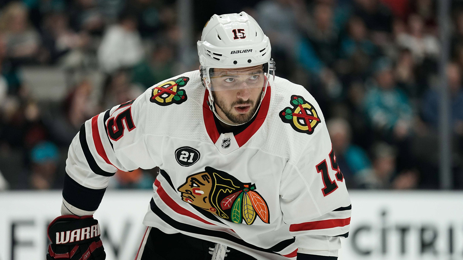 Blackhawks trade Artem Anisimov to the Senators for Zack Smith