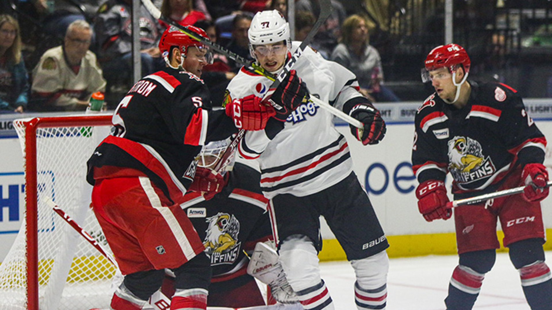 Blackhawks player Kirby Dach is 'getting his feet wet' in the AHL