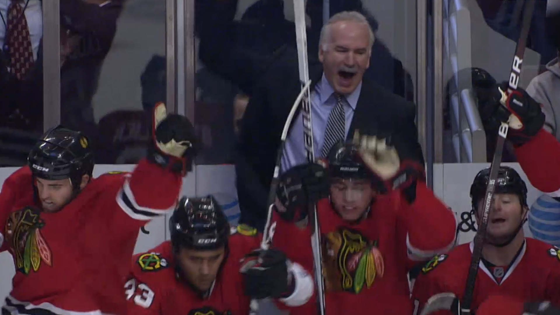 October 12, 2009: Hawks rally from 5-0 deficit vs Flames