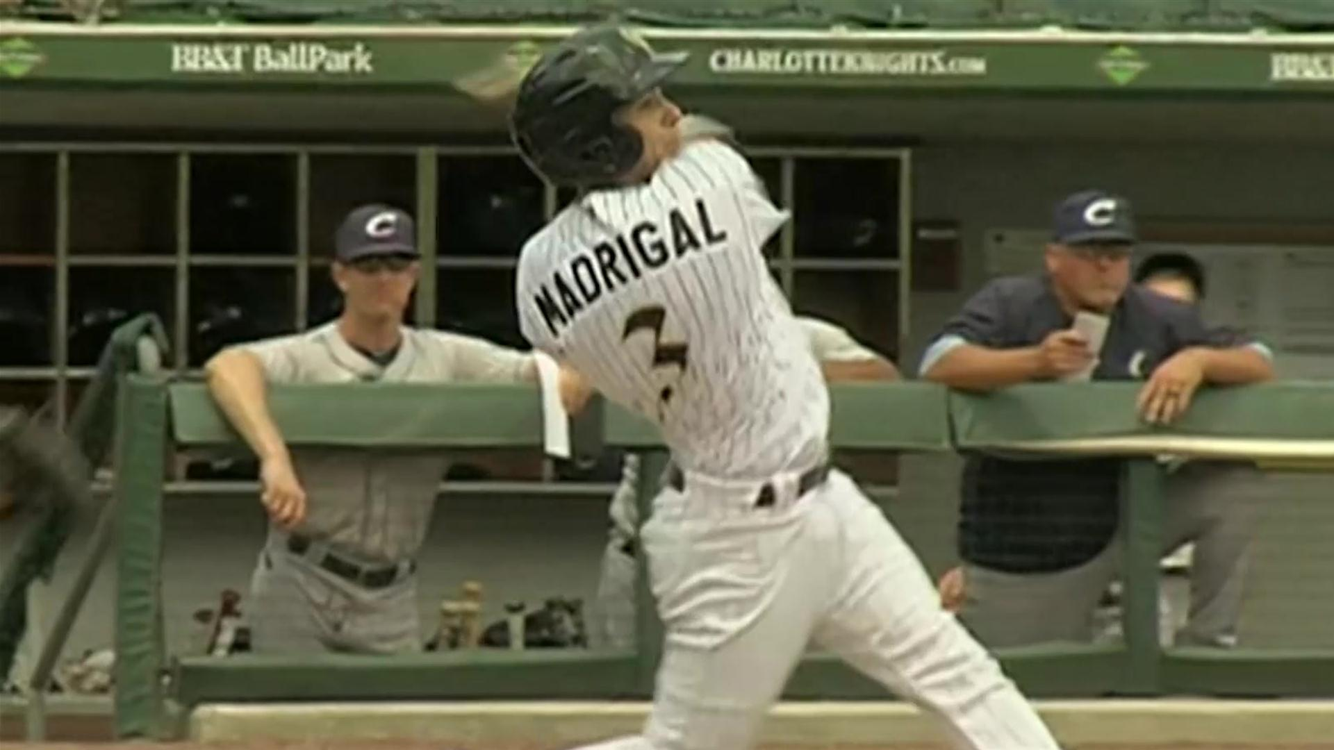 Nick Madrigal's first Triple-A home run