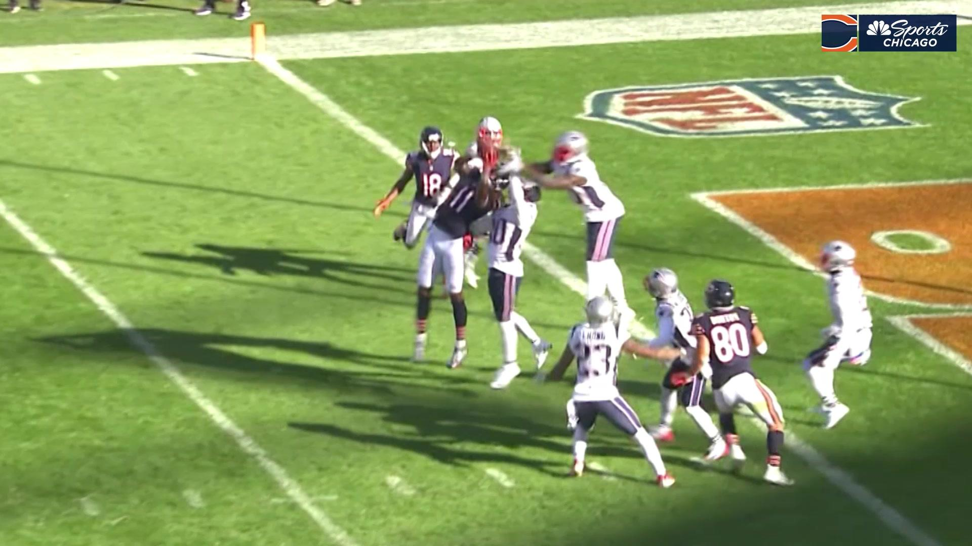 Bears react to the Hail Mary that neearrllyyy tied the game