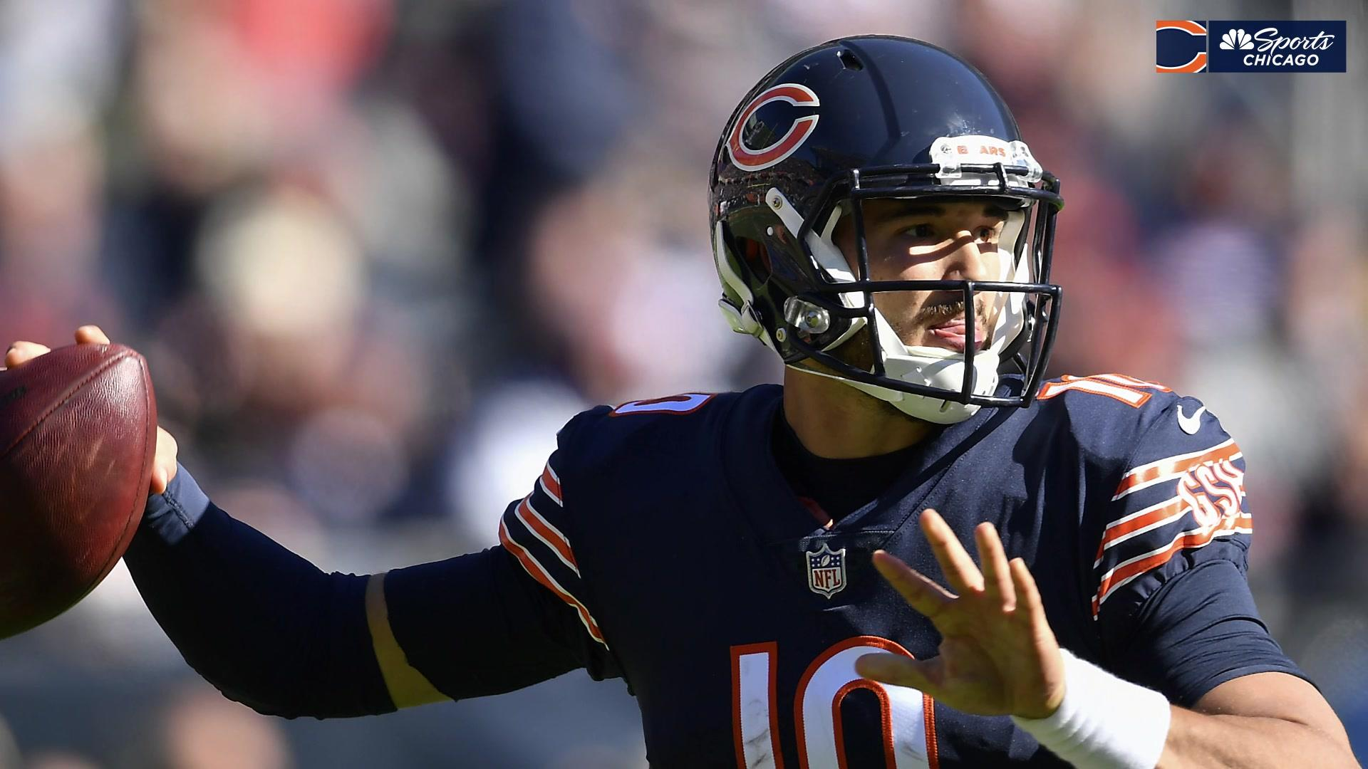 Matt Nagy stressed confidence in Trubisky's choices, mobility against Pats