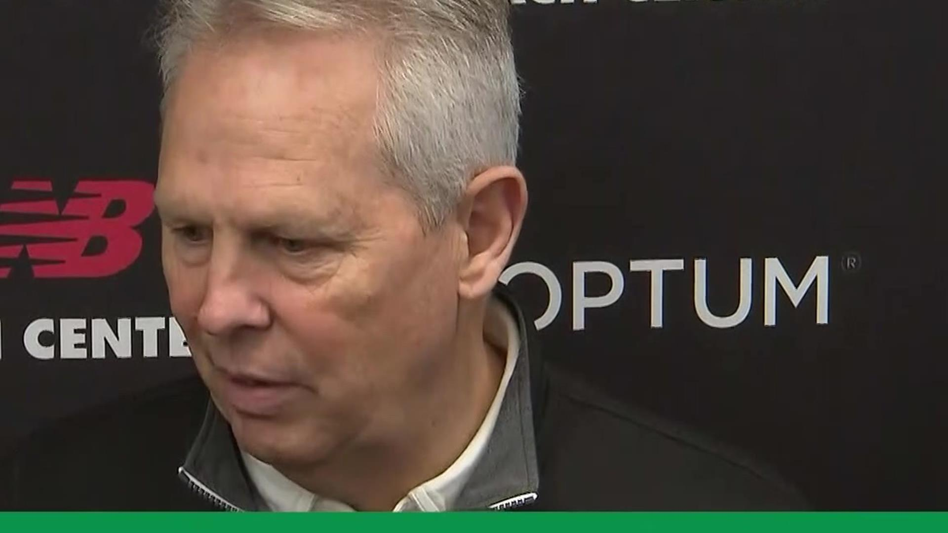 Danny Ainge on Marcus Smart injury; takes dig at Terry Rozier