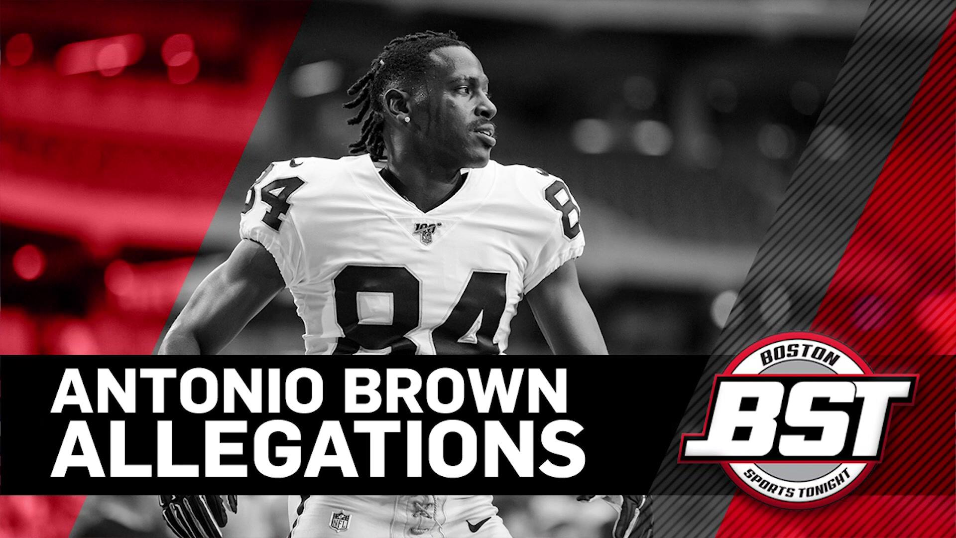 Tom Curran reacts to allegations surrounding Antonio Brown